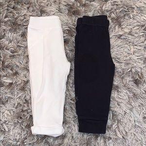 Bundle of baby girl pants